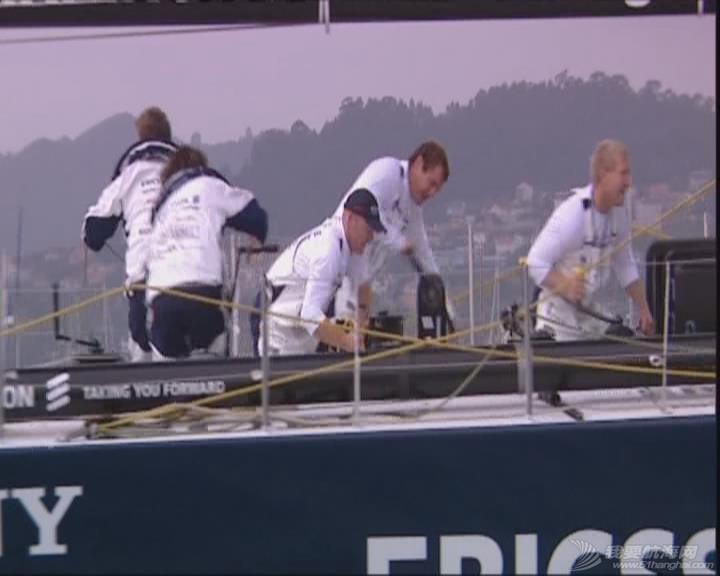 沃尔沃 沃尔沃帆船赛2005-2006第一赛段