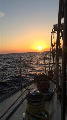 横穿爱奥尼亚海,帆船变摇篮(视频)
